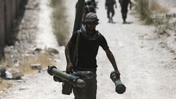 Militantes del Ejército Libre Sirio (Archivo) - Sputnik Mundo