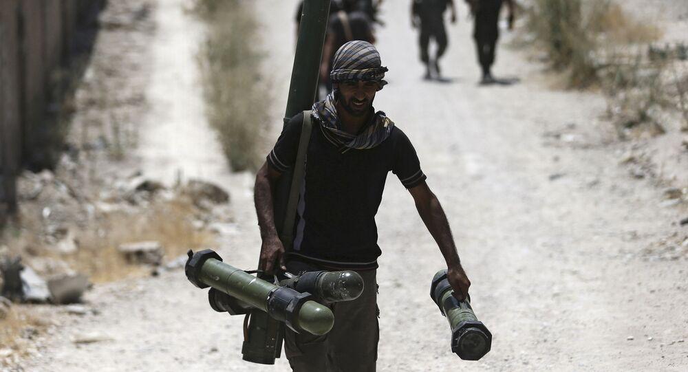 Combatiente del Ejército Libre Sirio (imagen referencial)
