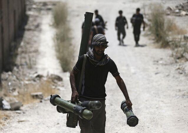 Militantes del Ejército Libre Sirio