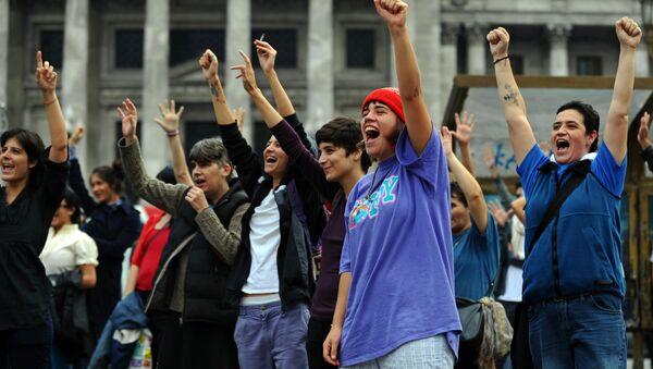 Representantes de la comunidad LGBTI, Argentina - Sputnik Mundo