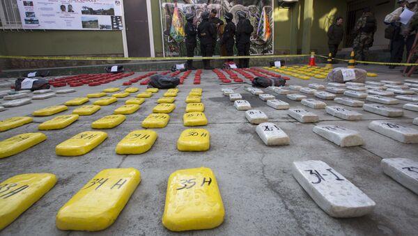Cocaína en La Paz, Bolivia - Sputnik Mundo