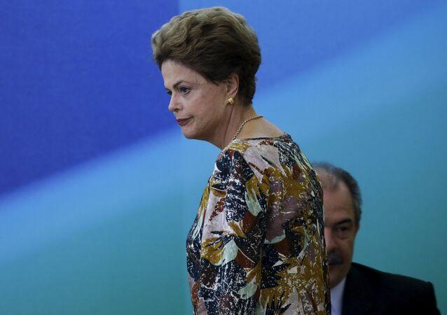Dilma Roussff, presidenta de Brasil