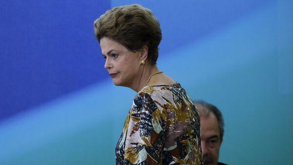 Dilma Roussff, presidenta de Brasil - Sputnik Mundo