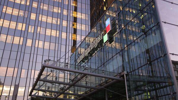 Edificio de Axel Springer - Sputnik Mundo