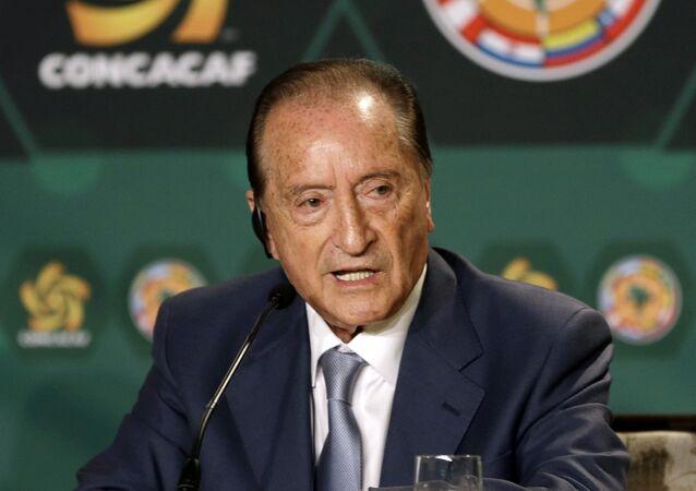 El presidente de CONMEBOL, Eugenio Figueredo