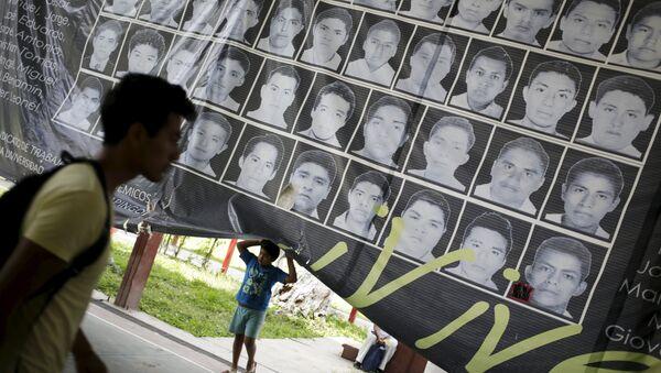 Fotos de los estudiantes desaparecidos en el estado de Guerrero, México - Sputnik Mundo