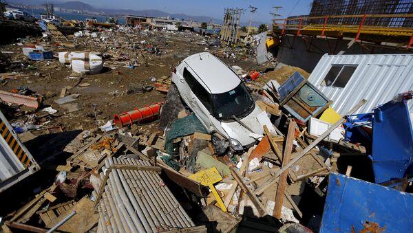 Consecuencias del sismo en Chile - Sputnik Mundo