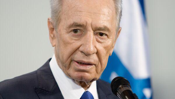 Shimon Peres, el expresidente israelí - Sputnik Mundo