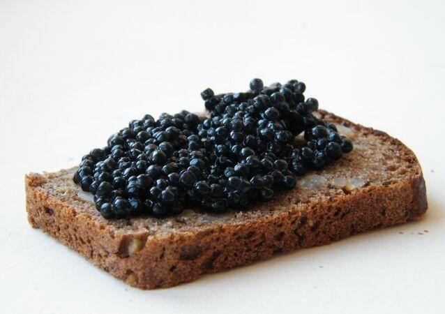 Caviar negro