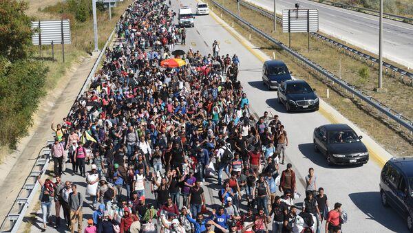 Migrantes y refugiados de Siria (archivo) - Sputnik Mundo
