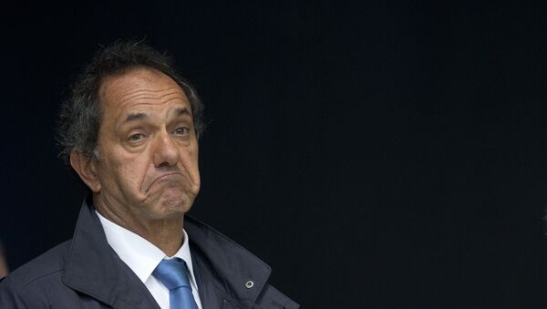 Daniel Scioli, candidato oficialista a la presidencia de Argentina - Sputnik Mundo
