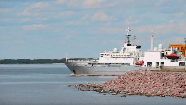 El buque ruso de salvamento Igor Belousov - Sputnik Mundo