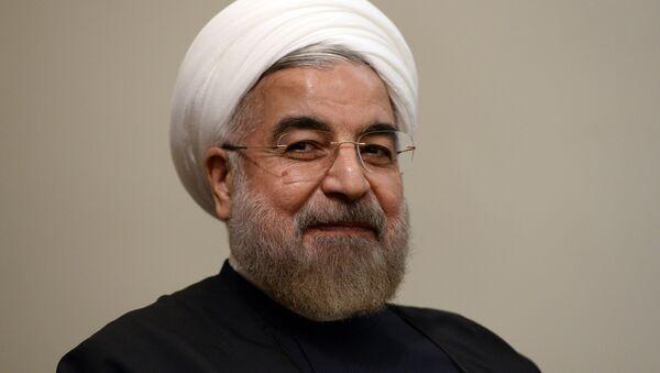 Hasán Rohani, presidente de Irán - Sputnik Mundo