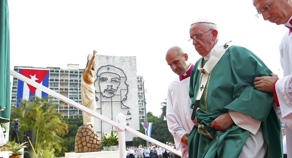 Papa Francisco en La Habana