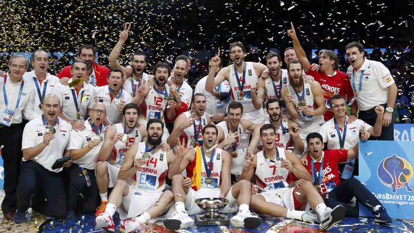 Selección española de baloncesto - Sputnik Mundo