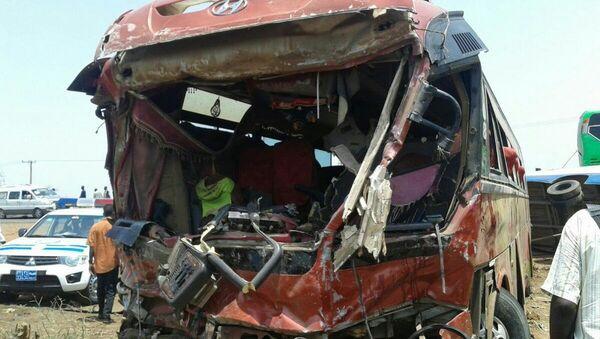 Colisión de autobuses en Sudán - Sputnik Mundo