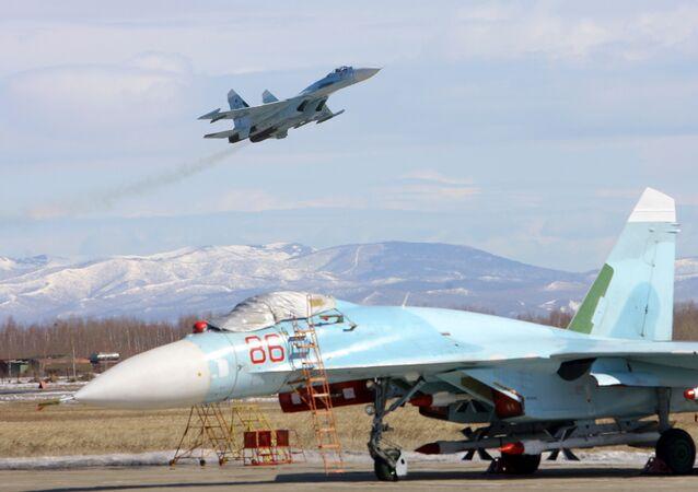 Cazas Su-27 SM