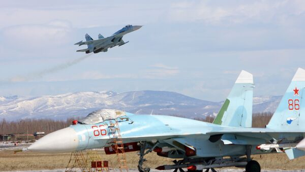 Cazas Su-27 SM - Sputnik Mundo