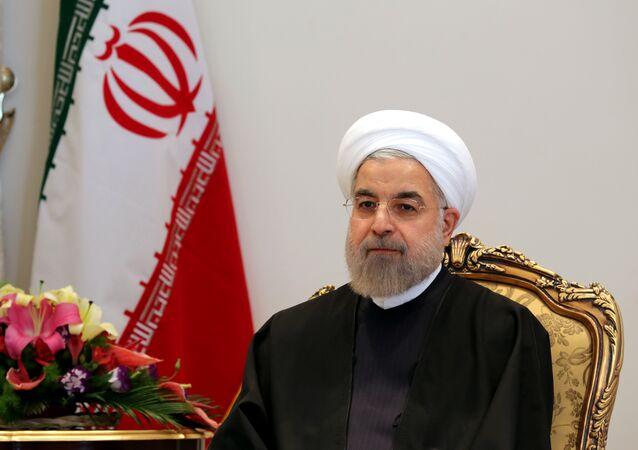 Hasán Rouhaní, presidente de Irán