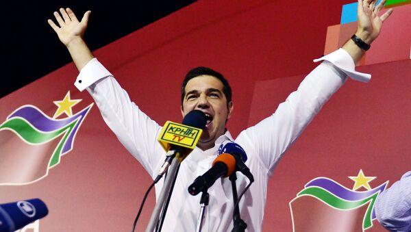 Alexis Tsipras, vencedor de las elecciones parlamentarias celebradas en Grecia - Sputnik Mundo