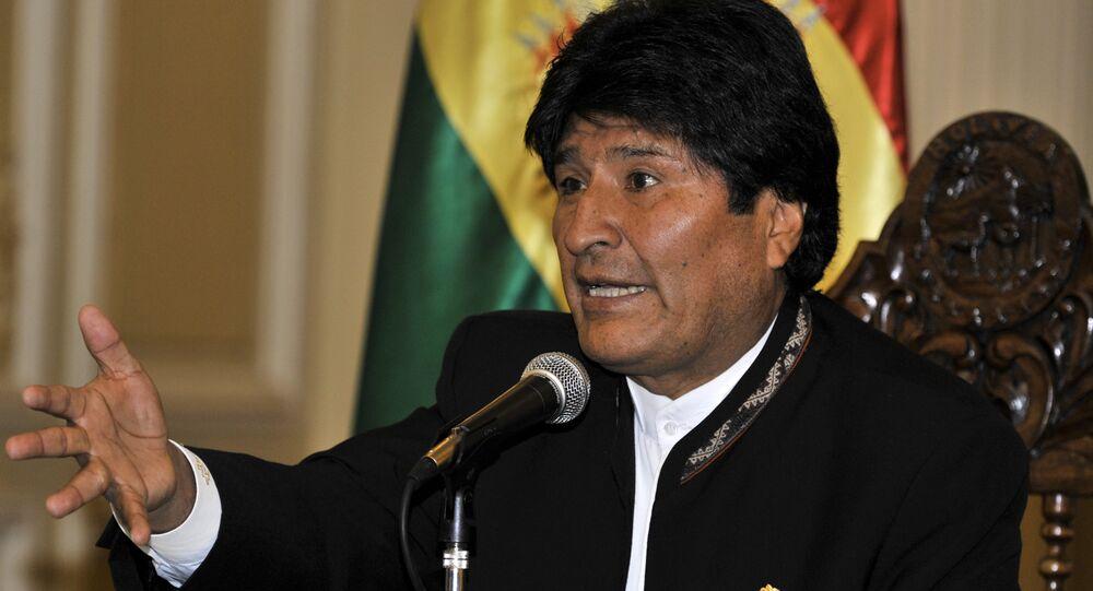 Evo Morales, presidente de Bolivia (archivo)