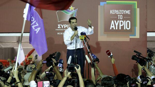 Alexis Tsipras, líder del partido Syriza - Sputnik Mundo