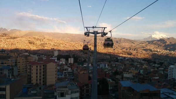 Teleférico La Paz-El Alto (archivo) - Sputnik Mundo