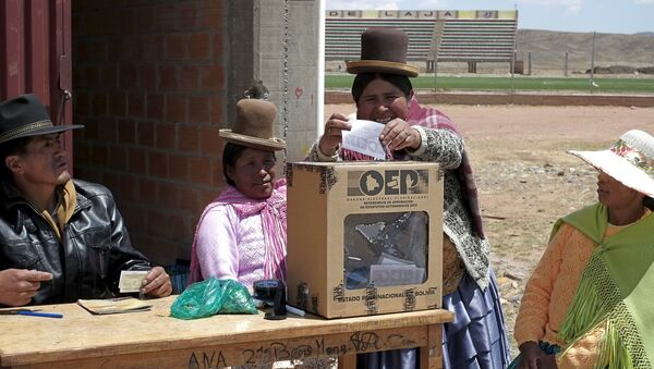 Referéndum en Bolivia (archivo) - Sputnik Mundo