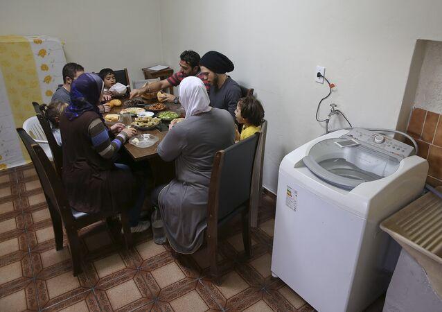 Refugiados sirios en Brasil