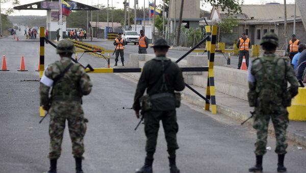 Frontera entre Venezuela y Colombia - Sputnik Mundo