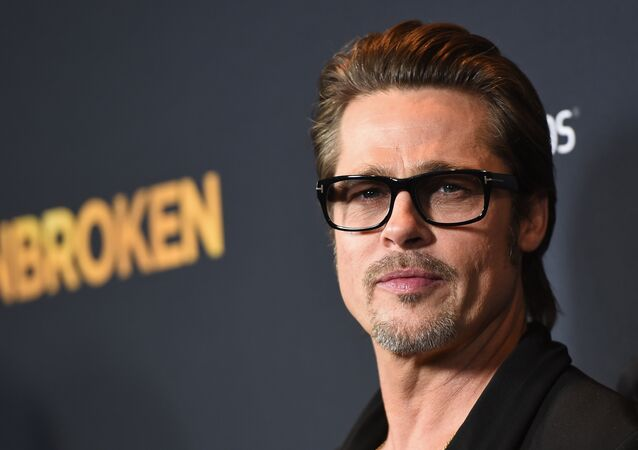 Brad Pitt, actor estadounidense (archivo)