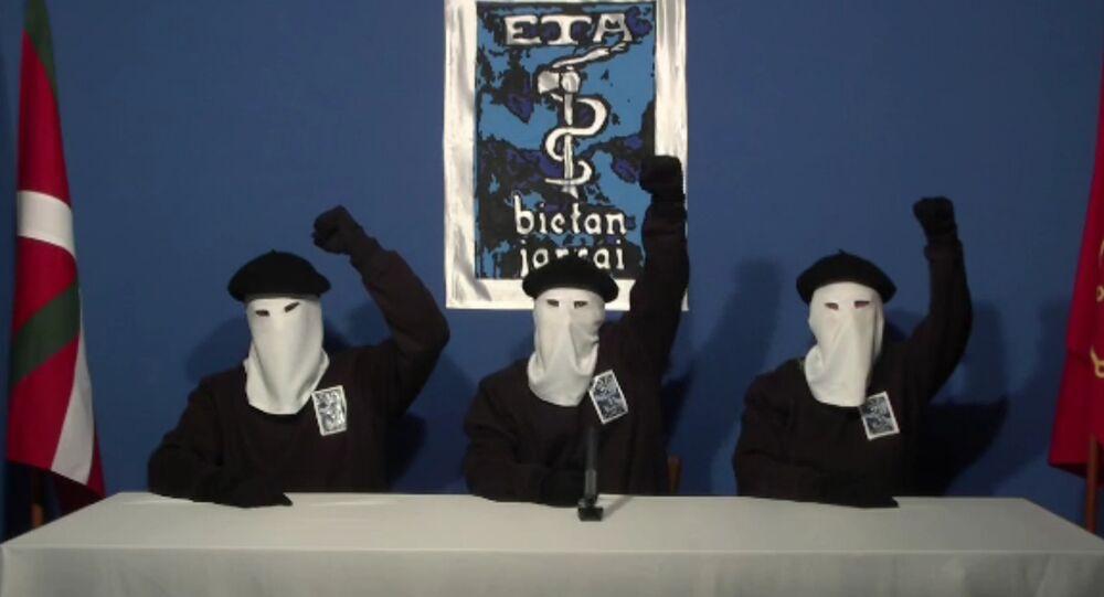 Miembros de grupo armado ETA