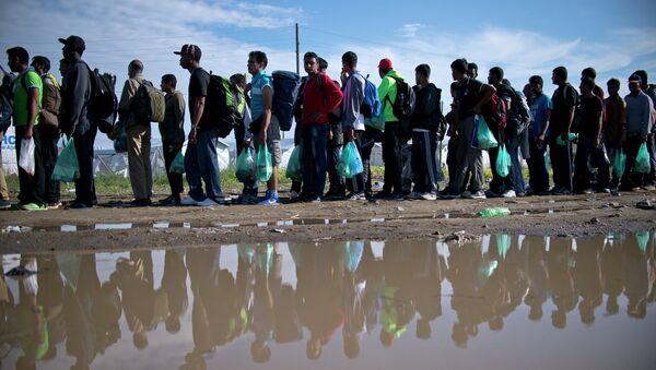 Refuagiados en Europa - Sputnik Mundo