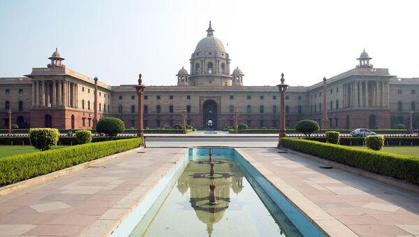 La sede de Ministerio de Finanzas de India - Sputnik Mundo