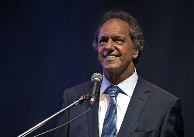 Daniel Scioli, candidato a la presidencia de Argentina