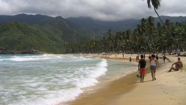 Playa de Choroni en Aragua, Venezuela - Sputnik Mundo