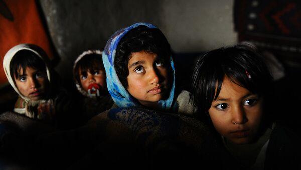 Niños afganos (archivo) - Sputnik Mundo