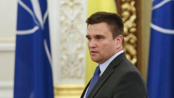 Pavló Klimkin, canciller de Ucrania - Sputnik Mundo