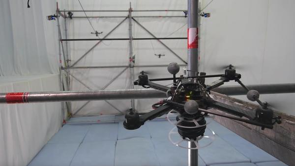 Cómo construir con drones un puente de cuerdas - Sputnik Mundo