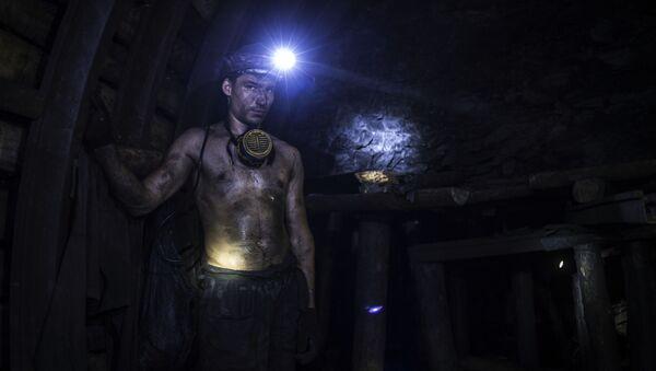 Una mina en Donbás - Sputnik Mundo