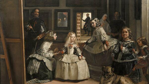 Las meninas, Diego Velázquez, 1656 - Sputnik Mundo