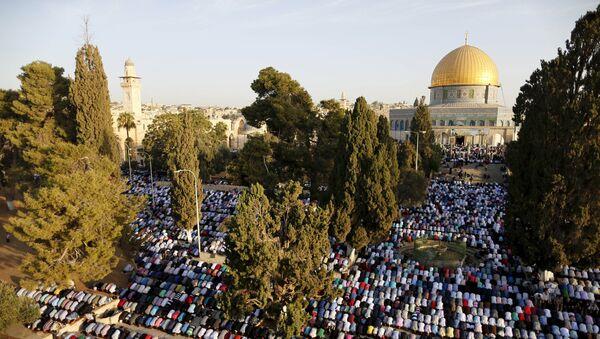 La Explanada de las Mezquitas de Jerusalén (archivo) - Sputnik Mundo