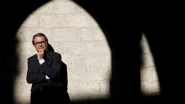 Artur Mas, líder de Cataluña - Sputnik Mundo