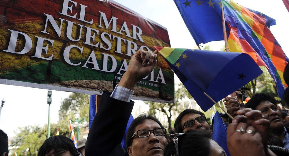 Delegado boliviano dice que salida al mar sólo se logrará con la negociación