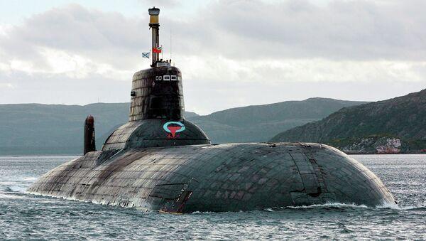 Submarino nuclear ruso de clase Akula (archivo) - Sputnik Mundo