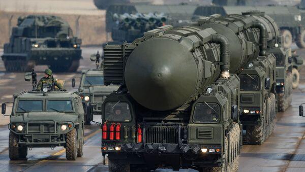 Misil balístico Topol-M - Sputnik Mundo