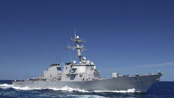 Destructor estadounidense USS Carney (archivo) - Sputnik Mundo