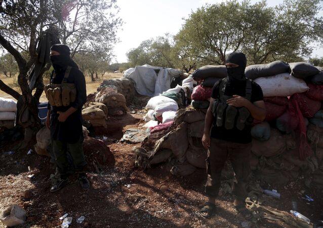 Terroristas del Frente al Nusra en Siria (archivo)