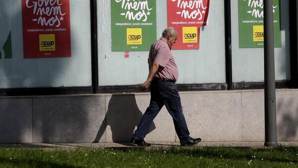Carteles electorales en Barcelona - Sputnik Mundo