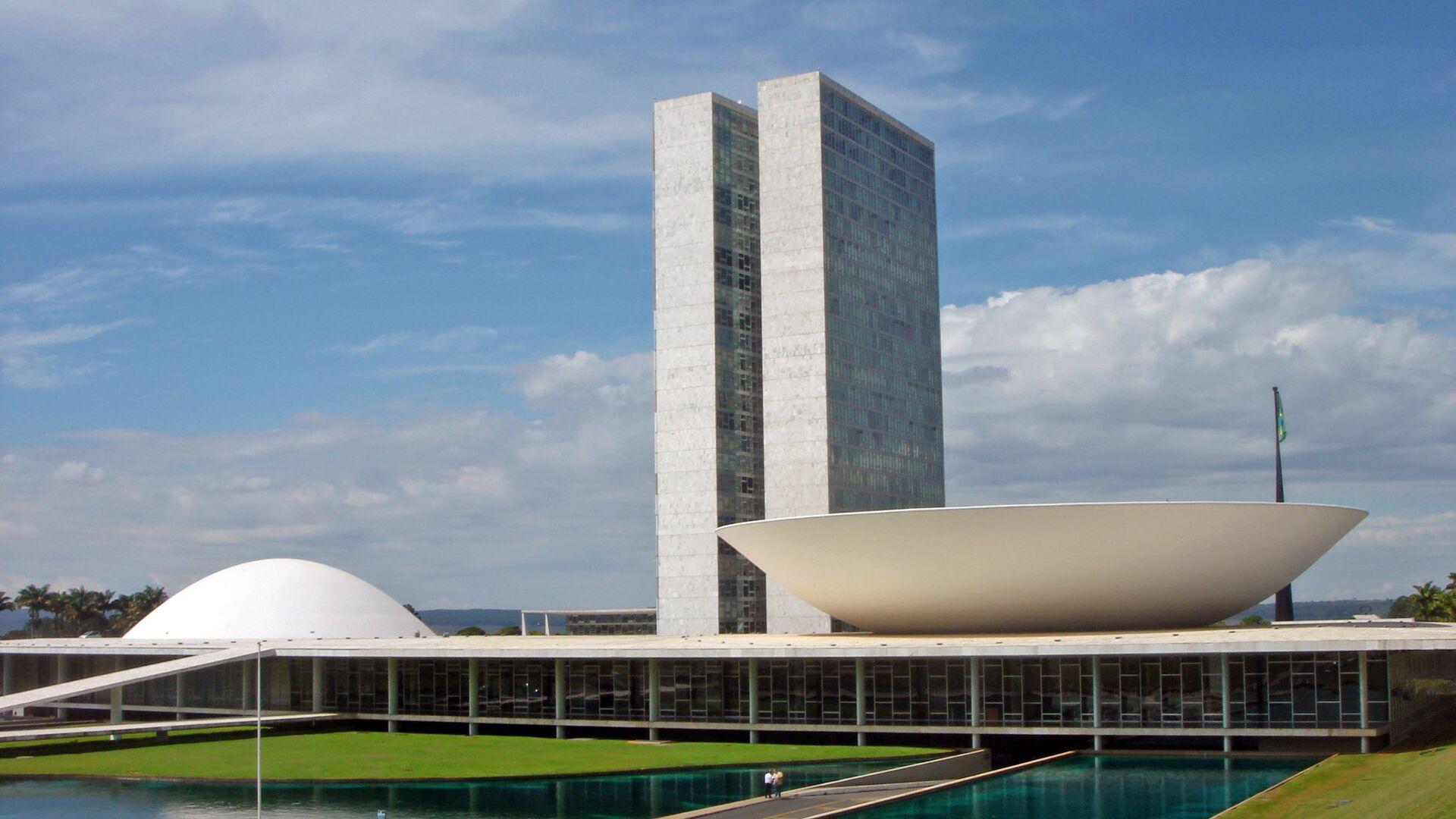Congreso Nacional de Brasil - Sputnik Mundo, 1920, 12.04.2021